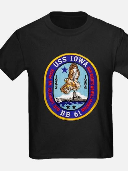 USS IOWA T