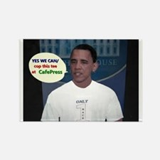 YES WE CAN/cop this tee Rectangle Magnet