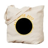 2017 solar eclipse usa Regular Canvas Tote Bag