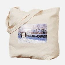 Claude Monet The Magpie Tote Bag