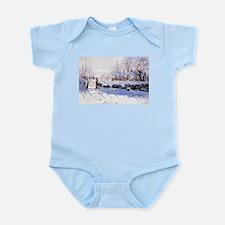 Claude Monet The Magpie Infant Bodysuit