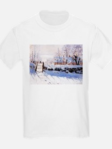 Claude Monet The Magpie T-Shirt