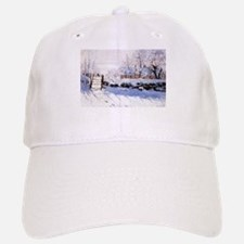 Claude Monet The Magpie Baseball Baseball Cap