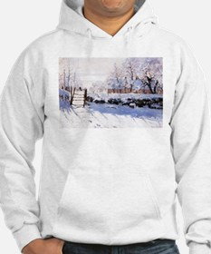 Claude Monet The Magpie Hoodie