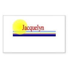 Jacquelyn Rectangle Decal