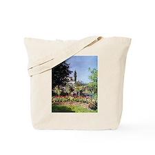 Claude Monet Flowering Garden at Sainte-Adresse To