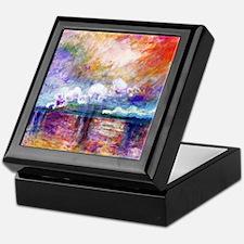 Claude Monet Charing Cross Bridge Keepsake Box