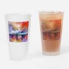 Claude Monet Charing Cross Bridge Drinking Glass
