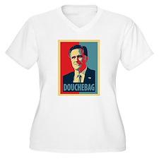 Mitt Romney Douchebag T-Shirt
