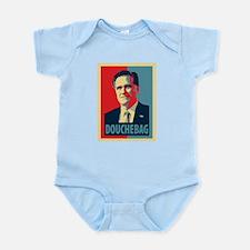 Mitt Romney Douchebag Infant Bodysuit