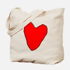 RoughHeart Tote Bag