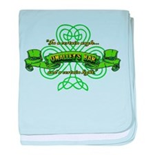 O'Malley's Bar baby blanket