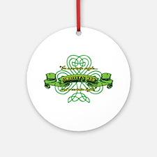 O'Malley's Bar Ornament (Round)