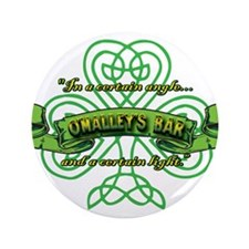 "O'Malley's Bar 3.5"" Button"