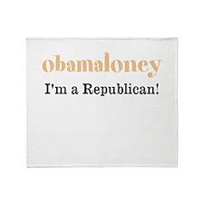 obamaloney Throw Blanket