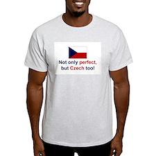 Perfect Czech Ash Grey T-Shirt