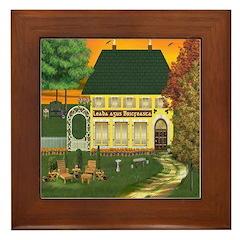 Leaba agus Bricfeasta (B & B) Framed Tile