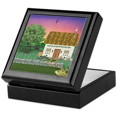 Sunrise Cottage Keepsake Box