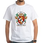 MacGibbons Coat of Arms White T-Shirt
