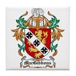 MacGibbons Coat of Arms Tile Coaster
