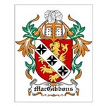MacGibbons Coat of Arms Small Poster