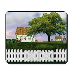 Irish Cottage Scene Mousepad
