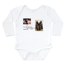 Fur Shame Long Sleeve Infant Bodysuit