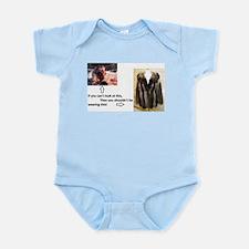 Fur Shame Infant Bodysuit