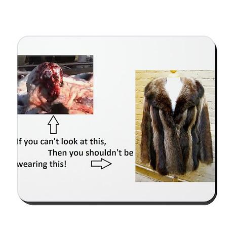 Fur Shame Mousepad