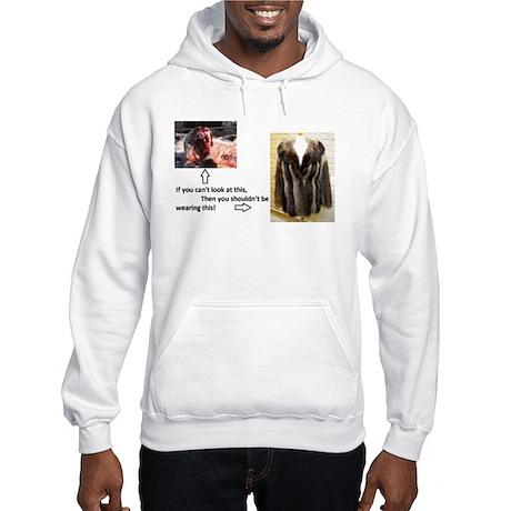 Fur Shame Hooded Sweatshirt