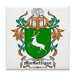 MacGettigan Coat of Arms Tile Coaster