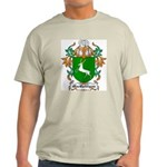 MacGettigan Coat of Arms Ash Grey T-Shirt