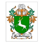 MacGettigan Coat of Arms Small Poster
