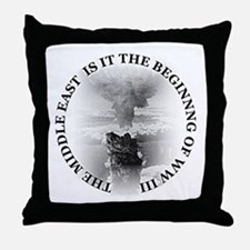 Middle East! Throw Pillow