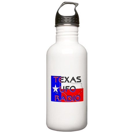 Texas UFO Radio Stainless Water Bottle 1.0L