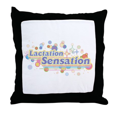 MM Lactation Sensation Throw Pillow