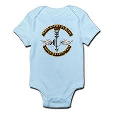 Navy - Rate - AG Infant Bodysuit
