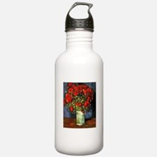 Van Gogh Red Poppies Water Bottle
