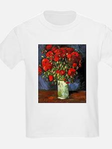 Van Gogh Red Poppies T-Shirt