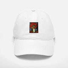 Van Gogh Red Poppies Baseball Baseball Cap