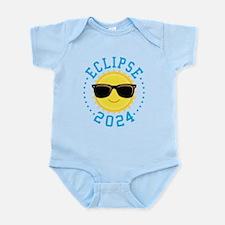 Cute Sun Eclipse 2017 Body Suit