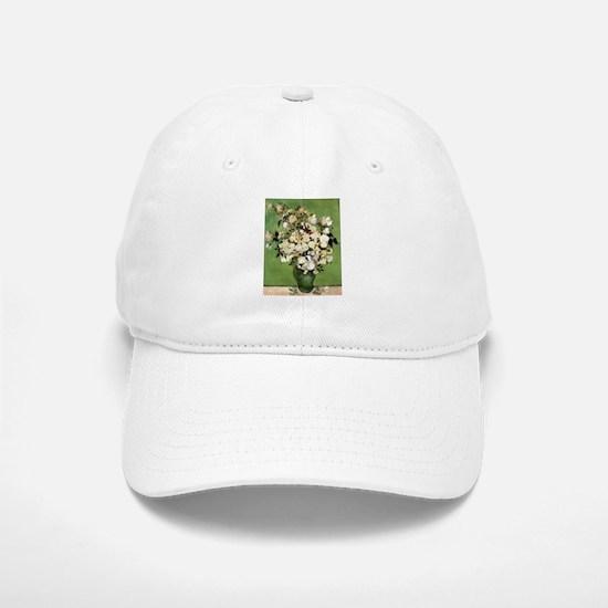 Van Gogh Roses Baseball Baseball Cap