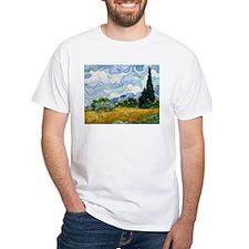 Van Gogh Wheat Field With Cypresses Shirt