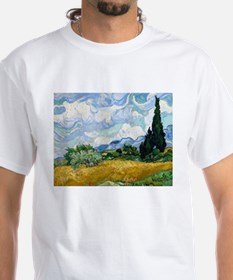 Van Gogh Wheat Field With Cypresses Shirt
