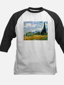 Van Gogh Wheat Field With Cypresses Tee