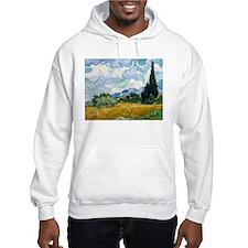 Van Gogh Wheat Field With Cypresses Hoodie