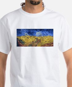 Van Gogh Wheatfield with Crows Shirt