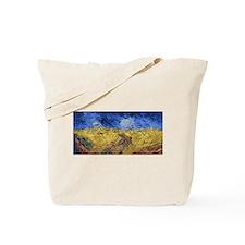 Van Gogh Wheatfield with Crows Tote Bag