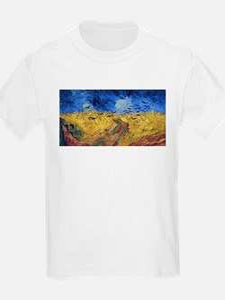 Van Gogh Wheatfield with Crows T-Shirt