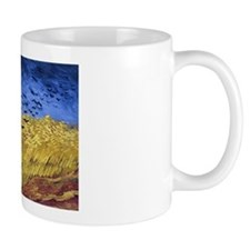 Van Gogh Wheatfield with Crows Small Mugs